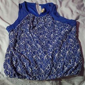 Kids girls blue shirt